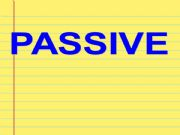 English powerpoint: Passive Voice in 3 simple steps