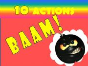 English powerpoint: Baam Game for preschoolers-part I