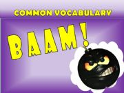 English powerpoint: Baam Game: Common Vocabulary part 1