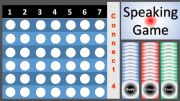 English powerpoint: Speaking game Connect4 _Food_Colours_Body