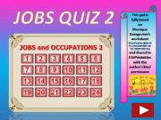 English powerpoint: Jobs and Occupations QUIZ 2 (out of 4)