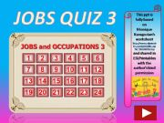English powerpoint: Jobs and Occupations QUIZ 3 (out of 4)
