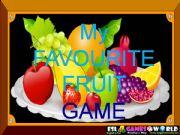 English powerpoint: Fruit game