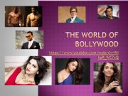 English powerpoint: The World of Bollywood