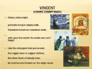 English powerpoint: #4 of 4 VanGogh and song