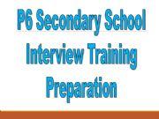 English powerpoint: interview skills