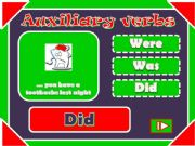 English powerpoint: Auxiliary Verbs