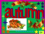English powerpoint: Autumn is back