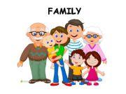 English powerpoint: Family Vocabulary Presentation