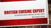 English powerpoint: British Food quiz