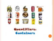 English powerpoint: Quantifiers-containers