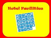 English powerpoint: hotel facilities