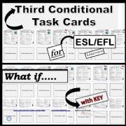 English powerpoint: Third Conditional - Task Cards