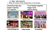 English powerpoint: Competitions