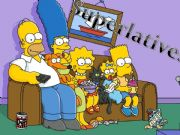 English powerpoint: Superlatives - The Simpsons
