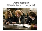 English powerpoint: There is Harry Potter