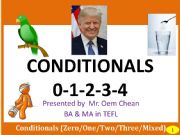 English powerpoint: Conditional Types 0-1-2-3-4