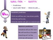 English powerpoint: Future Tense. Different Uses. (2nd Part)