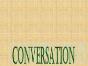 English powerpoint: CONVERSATION