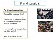English powerpoint: film review ´The present´