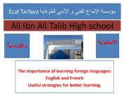 English powerpoint: The importance of learning foreign languages