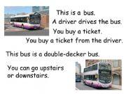 English powerpoint: transport vocabulary