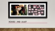 English powerpoint: ROMEO AND JULIET