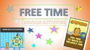 English powerpoint: Free Time - Indoor Activities