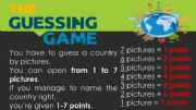 English powerpoint: COUNTRY NAME GUESSING GAME [a CLIL class] [part 1]