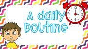 English powerpoint: ★★★ DAILY ROUTINE ★★★