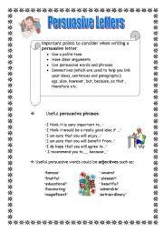 Persuasive Letters