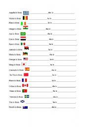 nationalities esl worksheet by b silva. Black Bedroom Furniture Sets. Home Design Ideas