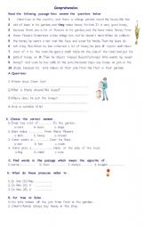 English Worksheets: the  honey bee