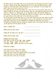 English Worksheets: the  two  ducks