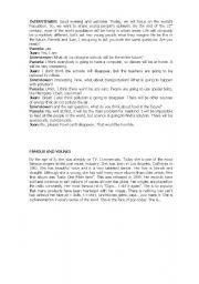 English Worksheets: texts