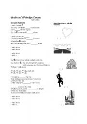 English Worksheets: GREEN DAY