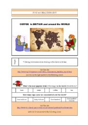 English Worksheet: Coffee in Britain