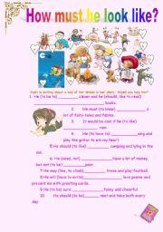 English Worksheet: Diary Girl (Modal Verbs)