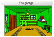 Rooms in the house flashcards: the garage