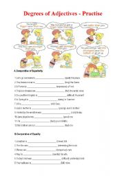 English worksheets for grade 12