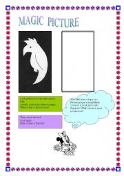 English Worksheets: Magic picture  07-08-08