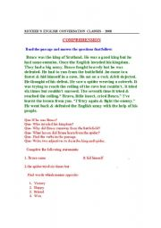 English worksheet: Comprehensive Skills