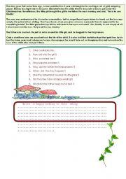 English Worksheets: a box  full of  kisses
