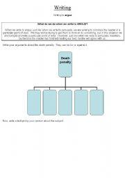 English worksheet: Argue