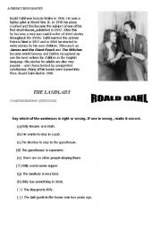 the landlady by roald dahl essay landlady foreshadowing essay