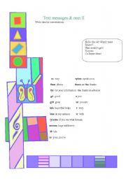 English Worksheets: Informal writing- 2nd part