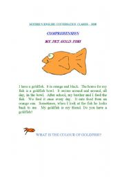 English Worksheets: Reading Comprehension(14thAugust2008)