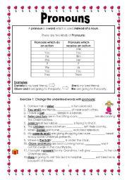 Printables Nouns And Pronouns Worksheet nouns and pronouns worksheet abitlikethis grammar worksheets gt part