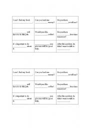 English Worksheets: tic tac toe  (some, something, somewhere.....and so on)