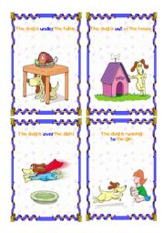 English Worksheets: The dog is ... (6/6) - (15.08.08)